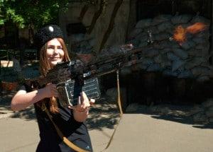 Maryana Naumova gun