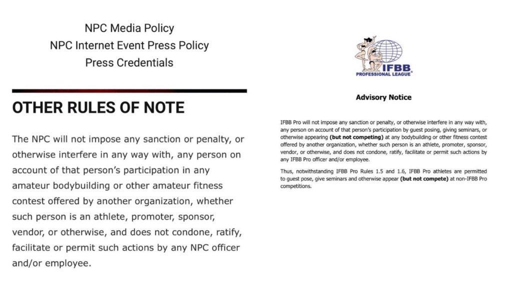 NPC policy