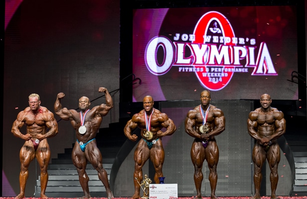 2014 Olympia Top 6
