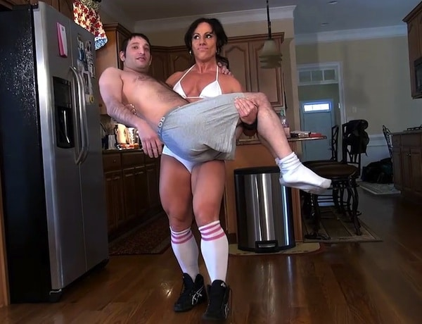 women muscular worship domination Muscle muscle