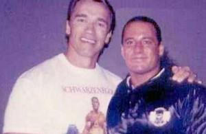 Arnold Schwarzenegger Gregg Valentino
