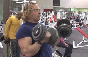 Eric The Trainer Dumbbell Biceps Curls