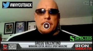 Gregg Valentimo RX Muscle