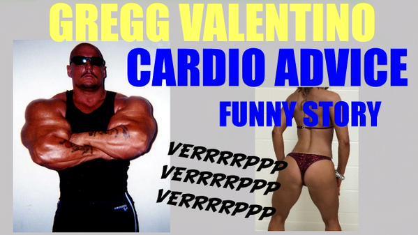 Gregg Valentino cardio video