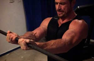 close grip barbell