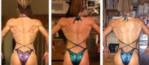 Jennie back progress comparison pic