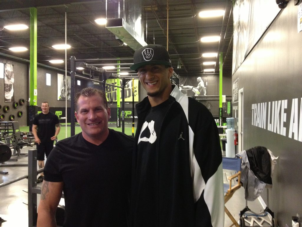 Kaepernick with Joe