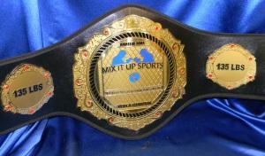 MMA championship belt