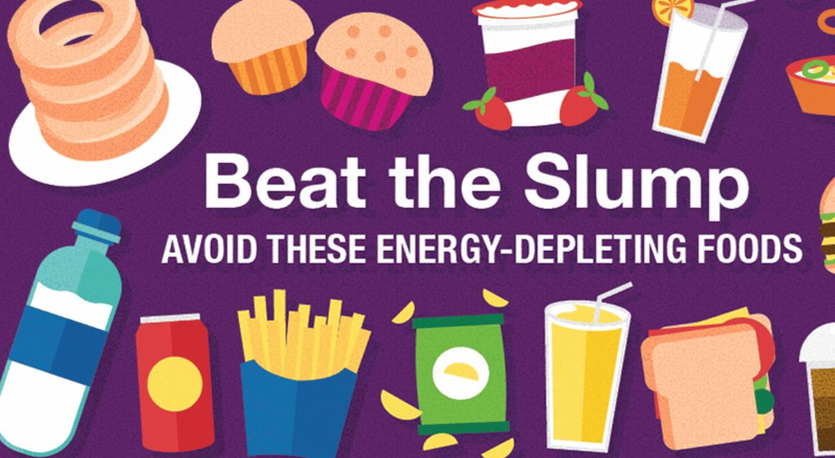 Energy Depleting Foods