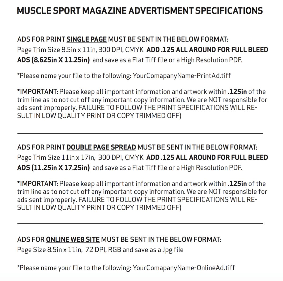MSM Ad Specs 2016