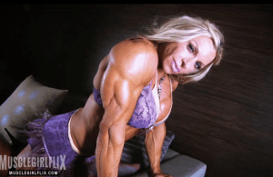 Muscle Girl Flix Debi
