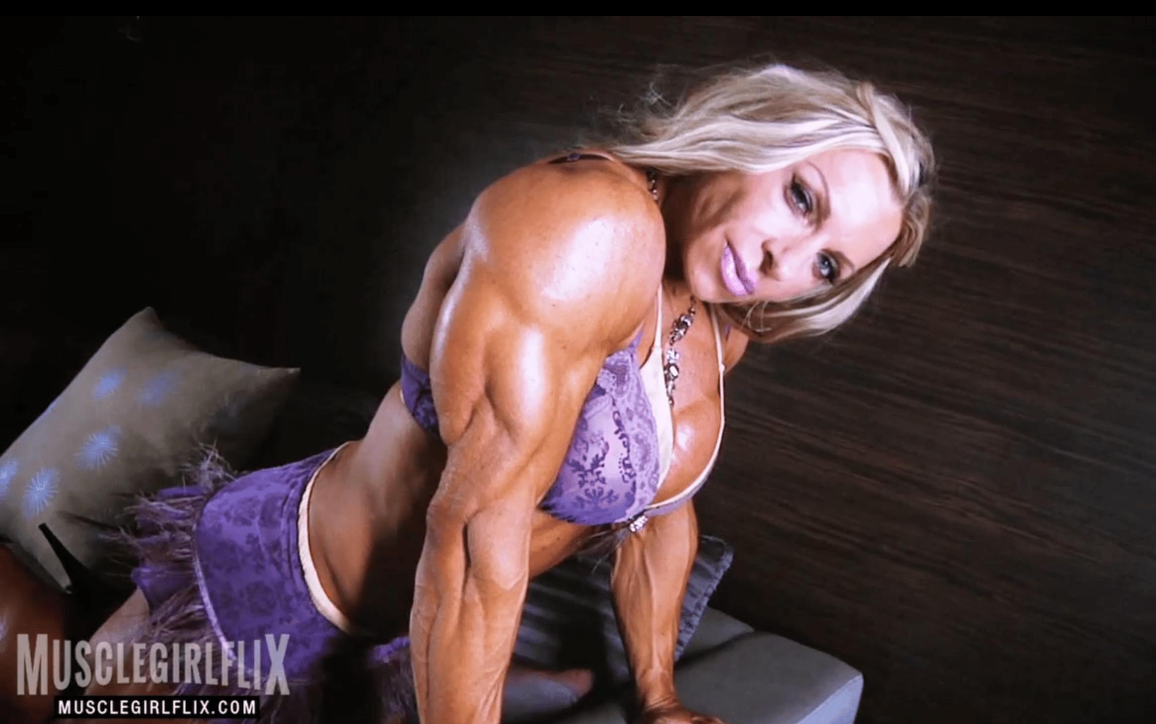 Muscle Girl Flix Debi
