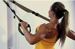 TRX Back Exercise
