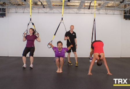 Body Weight Exercises At Home Using A Suspension Trx