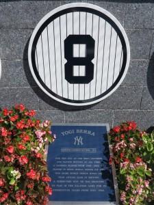 Yogi Berra Retired Number