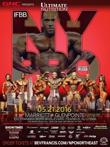 2016 NY Pro poster