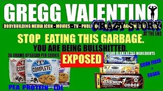 Gregg eating garbage