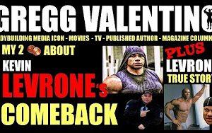 Gregg Levrone comeback
