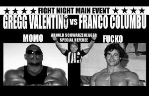 Gregg vs Franco Columbu