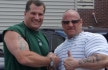 MSM Founding Editor Joe Pietaro with Muscular Development's Gregg Valentino