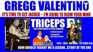 gregg triceps video