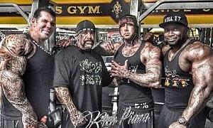 5%er crew Gold's Gym
