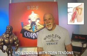 Ric Drasin tendon tears
